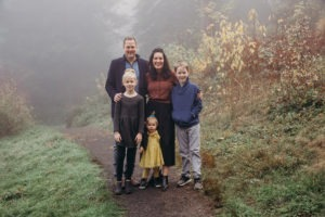 Dr. Robert Wagner and his family – Wagner Dental Care in Portland, OR.